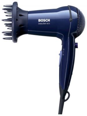 Фен Bosch PHD 3300 - Вид сбоку с насадкой-диффузором