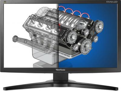 Монитор Viewsonic VP2765-LED - фронтальный вид