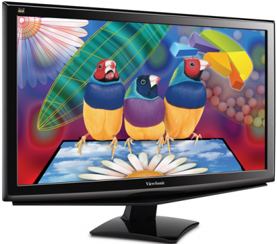 Монитор Viewsonic VX2451MH-LED - общий вид