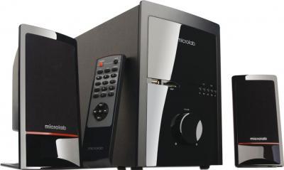 Мультимедиа акустика Microlab M 700U (черный) - общий вид