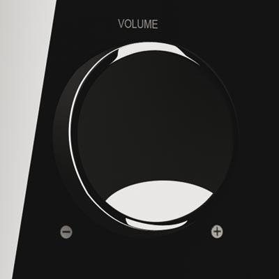 Мультимедиа акустика Microlab M 700 5.1 (черный) - вид спереди