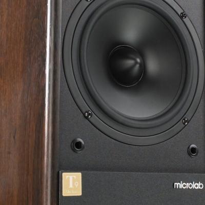 Мультимедиа акустика Microlab Solo 6C (дерево) - вид спереди