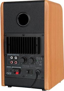 Мультимедиа акустика Microlab B 77 (дерево) - вид сзади