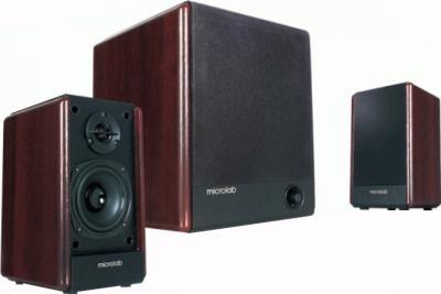 Мультимедиа акустика Microlab FC 330 (дерево) - общий вид