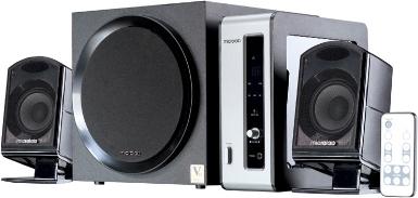 Мультимедиа акустика Microlab FC 550 (черный) - общий вид