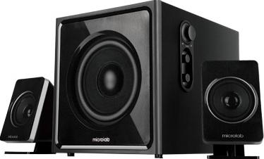 Мультимедиа акустика Microlab M 800 (черный) - общий вид