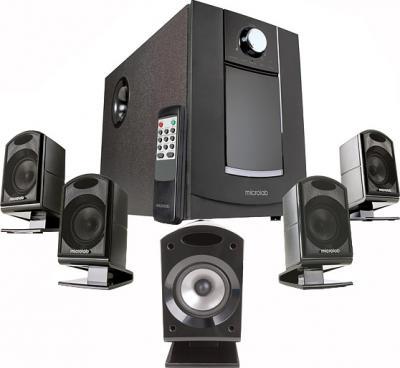 Мультимедиа акустика Microlab M 860 Black (M860-3154) - общий вид