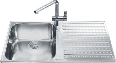 Мойка кухонная Smeg LTS901D-2 - общий вид
