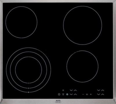 Электрическая варочная панель AEG HK634020XB - общий вид