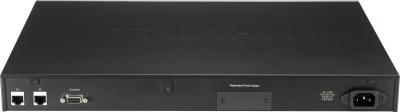 Коммутатор D-Link DES-3552 - вид сзади