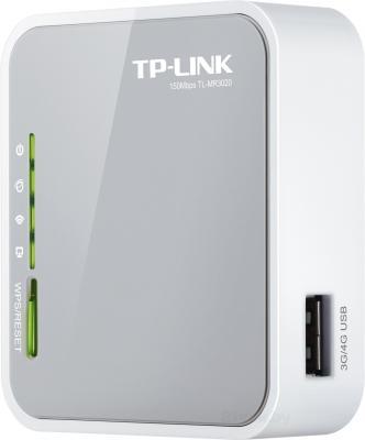 Беспроводной маршрутизатор TP-Link TL-MR3020 - общий вид