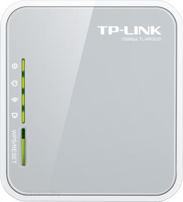 Беспроводной маршрутизатор TP-Link TL-MR3020 - фронтальный вид