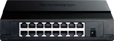 Коммутатор TP-Link TL-SF1016D - вид сзади