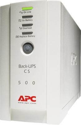 ИБП APC Back-UPS CS 500VA (BK500-RS) - общий вид