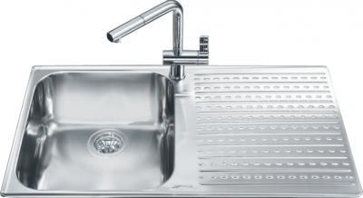 Мойка кухонная Smeg LTS901S-2 - общий вид