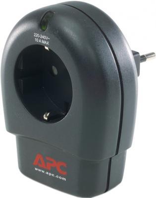 Сетевой фильтр APC P1-RS (черный) - общий вид