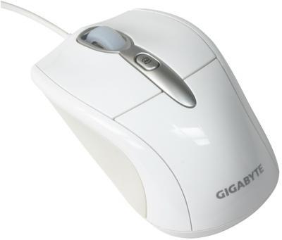 Мышь Gigabyte GM-M7000 (белый) - общий вид