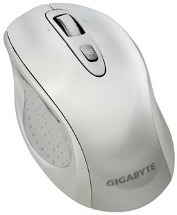 Мышь Gigabyte GM-M7700 (белый) - общий вид
