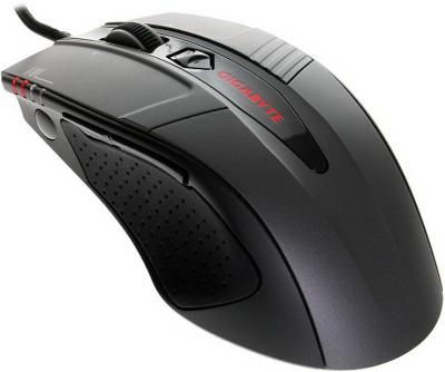 Мышь Gigabyte GM-M8000 Black - общий вид