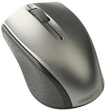 Мышь Gigabyte M7770 (серебристый) - общий вид
