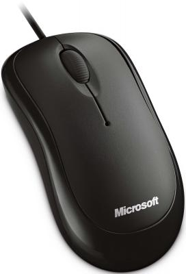 Мышь Microsoft Ready Mouse USB Black - общий вид