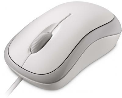 Мышь Microsoft Ready Mouse USB White - общий вид