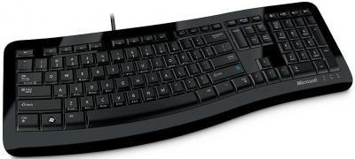 Клавиатура Microsoft Comfort Curve Keyboard 3000 USB - общий вид