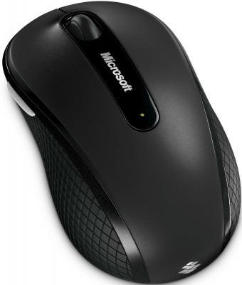 Мышь Microsoft Wireless Mobile Mouse 4000 Black - общий вид