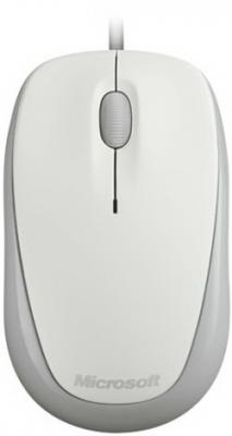 Мышь Microsoft Compact Optical Mouse 500 USB White - общий вид