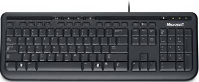 Клавиатура Microsoft Wired Keyboard 600 USB Black - общий вид