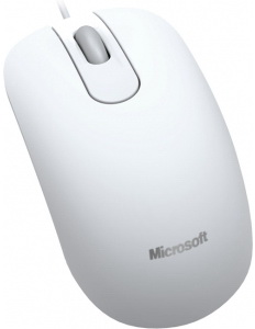 Мышь Microsoft Optical Mouse 200 USB White - общий вид