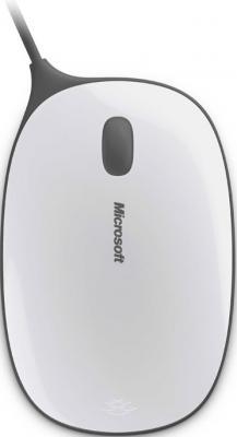 Мышь Microsoft Express Mouse USB White/Gray - общий вид