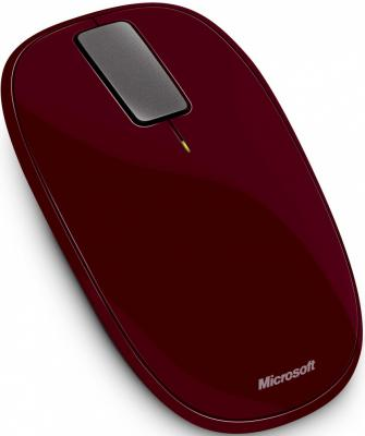 Мышь Microsoft Explorer Touch Mouse Sangria Red - общий вид