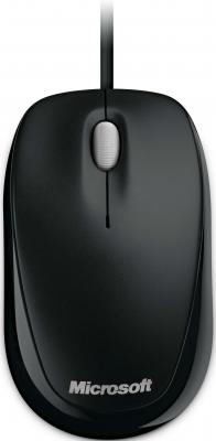 Мышь Microsoft Compact Optical Mouse 500 USB Black - общий вид