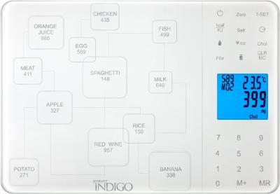 Кухонные весы Scarlett IS-565 (белый) - общий вид