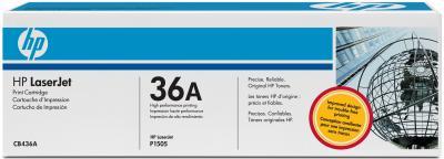 Тонер-картридж HP 36A (CB436A) - общий вид