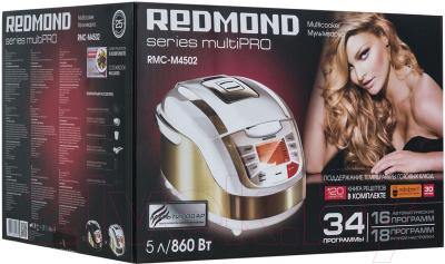Мультиварка Redmond RMC-M4502 (белый) - Коробка