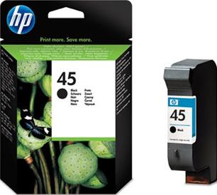 Картридж HP 45 (51645AE) - общий вид