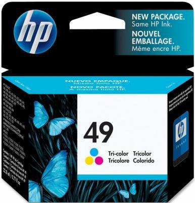 Картридж HP 49 (51649AE) - общий вид
