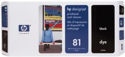 Печатающая головка HP 81 (C4950A) - общий вид