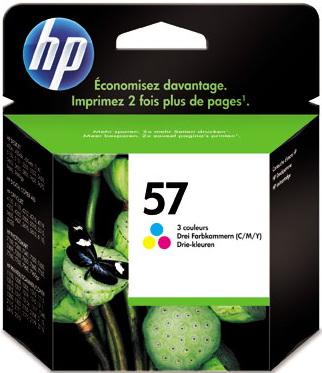 Картридж HP 57 (C6657AE) - общий вид
