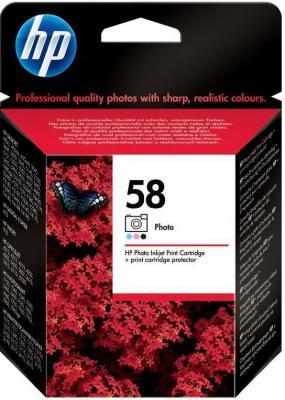 Картридж HP 58 (C6658AE) - общий вид