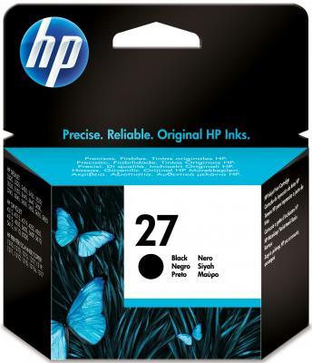 Картридж HP 27 (C8727AE) - общий вид