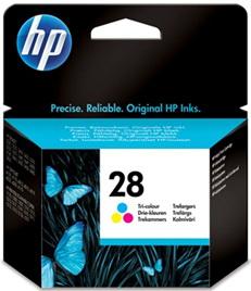 Картридж HP 28 (C8728AE) - общий вид