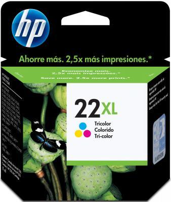 Картридж HP 22XL (C9352CE) - общий вид