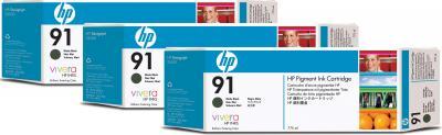 Комплект картриджей HP 91 (C9480A-1) - общий вид