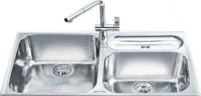 Мойка кухонная Smeg LTS903-2 - общий вид