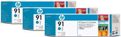 Картридж HP 91 (C9483A) - общий вид
