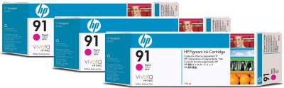 Комплект картриджей HP 91 (C9484A) - общий вид