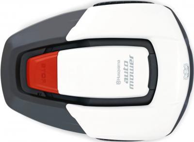 Газонокосилка электрическая Husqvarna AutoMower 305 White - вид сверху